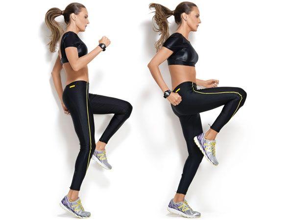 Nova aeróbica: 12 exercícios para queimar gordura sem esteira Treino aeróbico