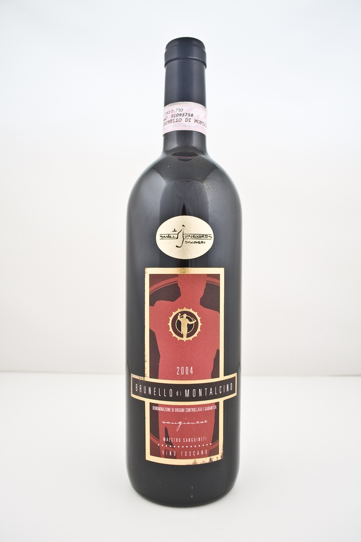 Killer Brunello.  Smaller producer with serious juice. 2004. $55