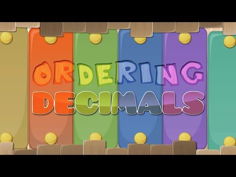 Ordering Decimals SONG: Estimation of Place Value Instruction - YouTube