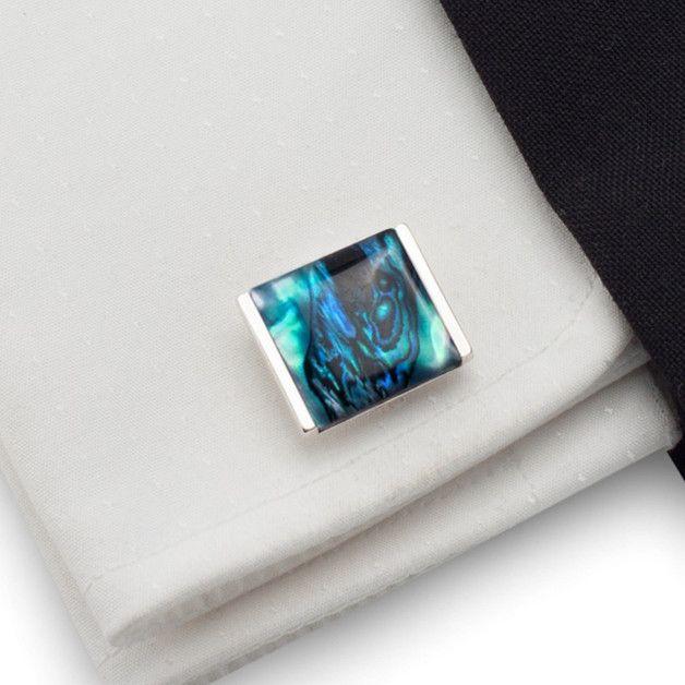 Herrenschmuck - Geschenk für Männer   Manschettenknöpfe - ein Designerstück von ZaNa-Design bei DaWanda
