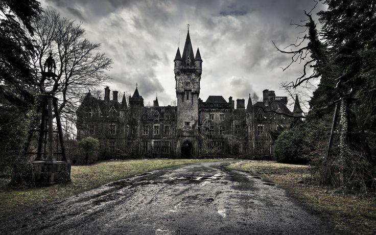 Fantasy castle background by indigodeep on DeviantArt