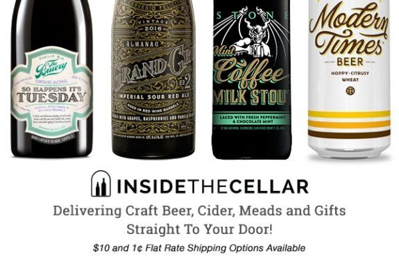 Inside the Cellar offers 10% online shop discount Black Friday-Cyber Monday weekend - #craftbeer