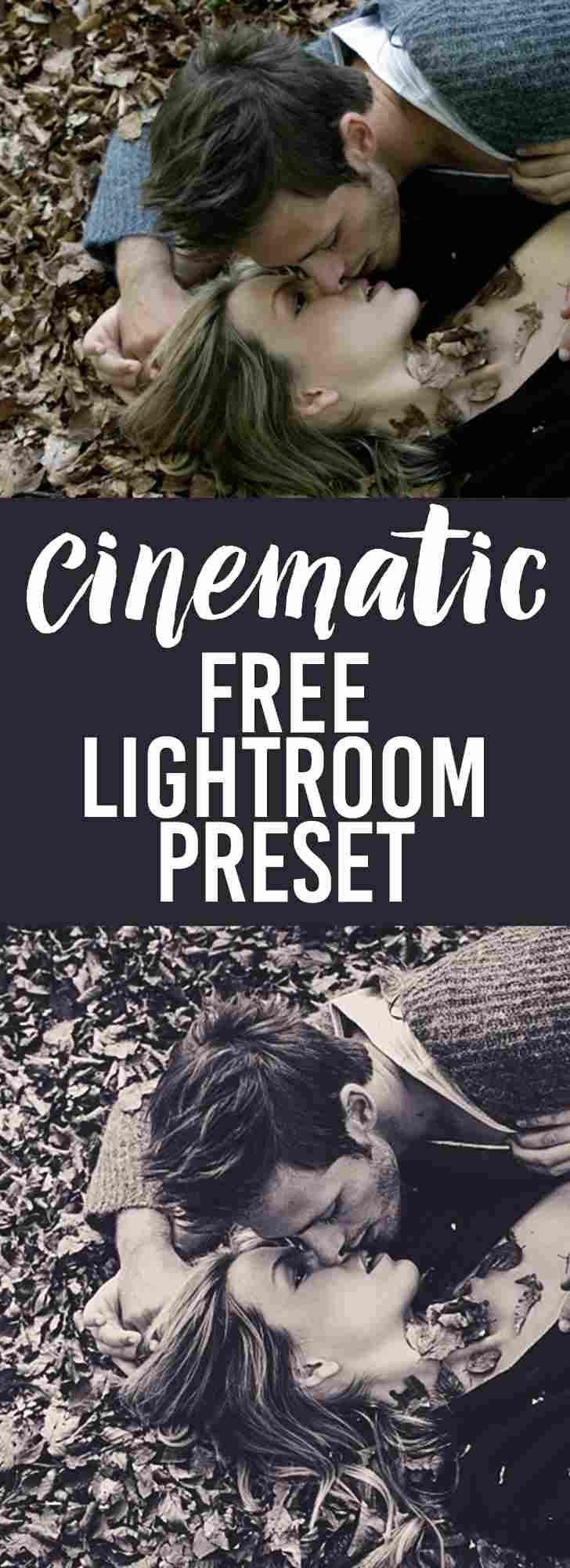 Free Lightroom Presets Cinematic