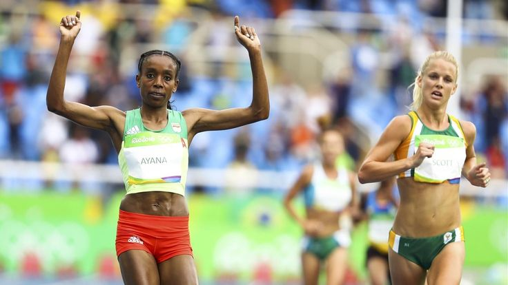Almaz Ayana destroys 10,000m world record