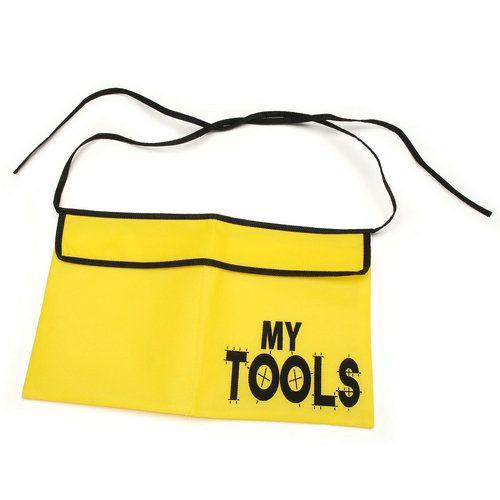 Opentip.com: Darice Crafts AC 106-3166 Tool Belt Pouch - Size: One Size - Color: Yellow - Size: One Size - Color: Yellow