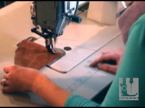 How to use an Industrial Sewing Machine - C Winn Designs - YouTube