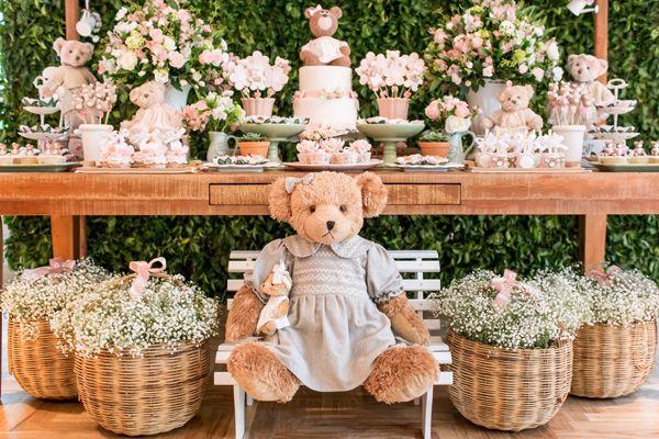 Festa infantil: jardim das ursas