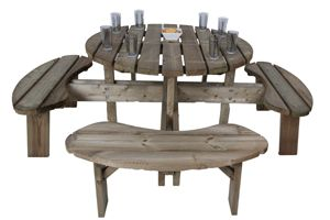 Aberdeen 8 seater picnic table