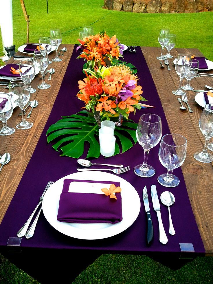 tropical wedding decor 25 best ideas about luau table decorations on 8083