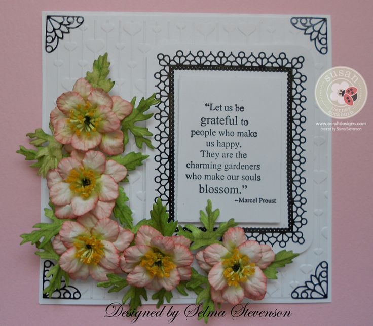 The 23 best images about elizabeth craft die cards on for Garden designs by elizabeth