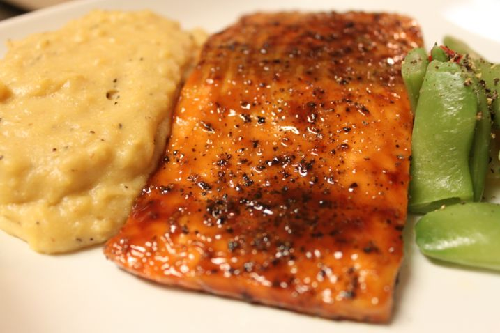 This is actually the only way I eat salmon.  I LOVE this recipe!  I found it when I googled a salmon recipe for people who hate salmon!  It's amazing!