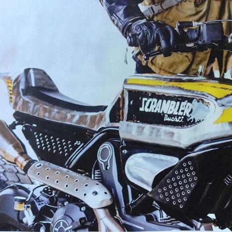 BAD BOYS   BAD TOYS.  ✔  Ducati sc-Rumble   By @vibrazioniartdesign   @riccazano @abevad   @scramblerducati @pirellimoto  Photo from @ridersmagazine   #ride #badboys #badtoys  #scrambler #ducati #800 #vibrazioniartdesign #enduro #street #coolbike #streettracker #ridehard  #instamotogallery #instagood #instalike #leather #rock #badass #faster #twowheelsforever #gofast  #biker_life