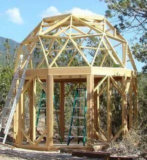 как построить купольный дом своими руками: 5 тыс ...