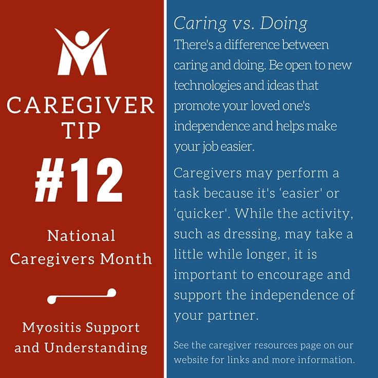 Caring Vs Doing Don T Do Too Much Let Your Loved One Do What They Can To Keep Some Independence Myosit Caregiver Quotes New Things To Learn Support Group