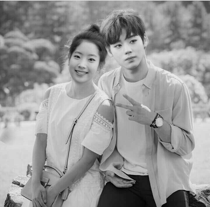 Dahyun and jihoon