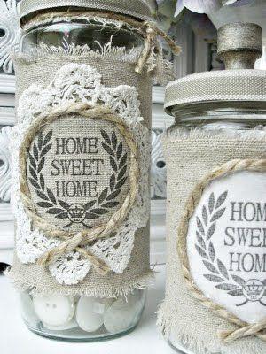 Altered jars.