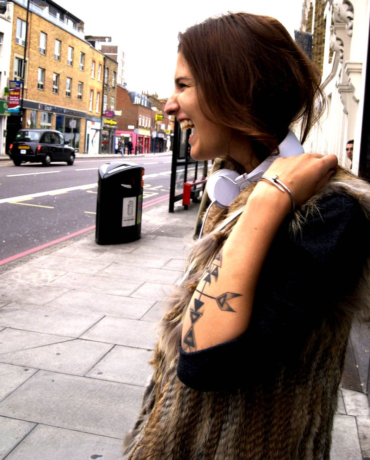 Native American #rabbitfur #gilet #tattoo #tribal #streetstyle