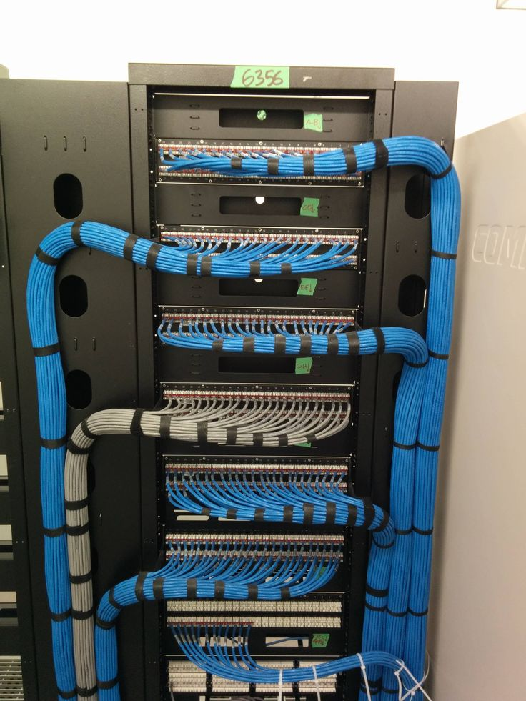 Serious Patch Panel Install  Cat 5e Ethernet Wiring  In