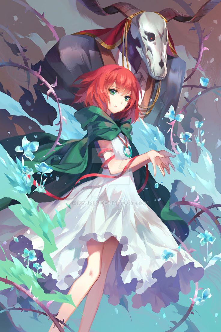Картинки аниме невеста чародея чисэ