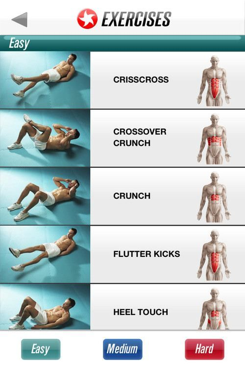 Easy Abs Moves