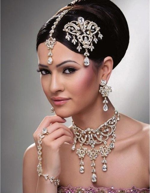 Astonishing 1000 Ideas About Indian Bridal Hairstyles On Pinterest Indian Hairstyles For Women Draintrainus