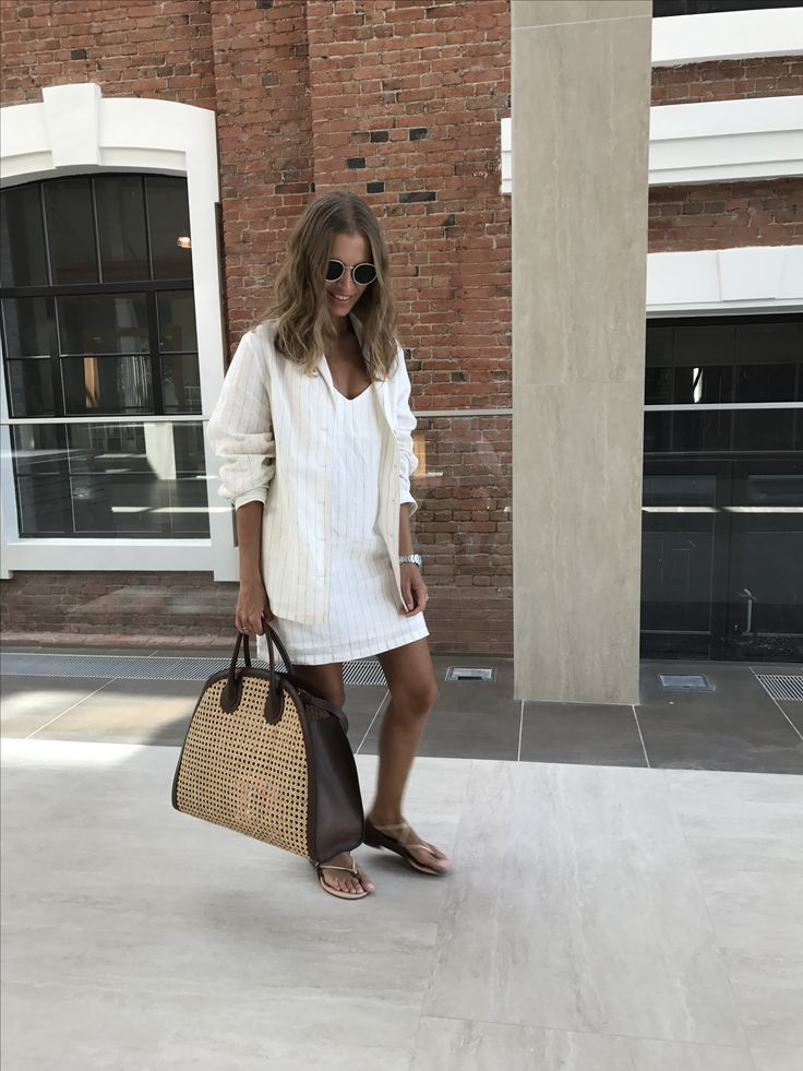 Linen mini slip dress and shirt from lilen shirt and shorts co-ord Shop the look online at en.12storeez.com
