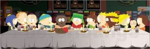 South Park - Das letzte Abendmahl - Comicposter