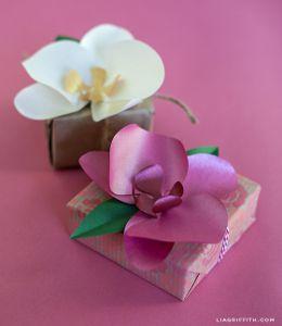 Radiant Paper Orchids | AllFreePaperCrafts.com