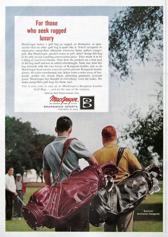 1963 MacGregor Golf Bags from #RetroReveries