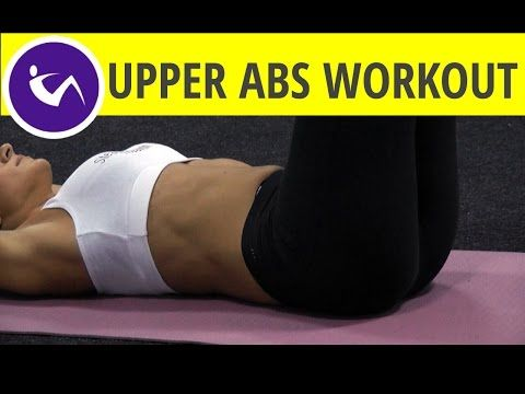 Lean up your belly with 5 best upper ab workouts - YouTube