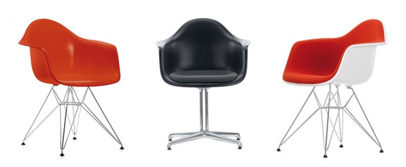 Eames Plastic Armchair : Furniture for homes: Vitra.com