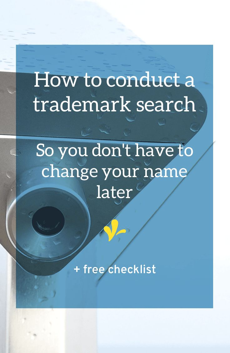 How to conduct a careful trademark search so you don't have to change names ( or get scary letters from lawyers) later. | the artist's J.D.