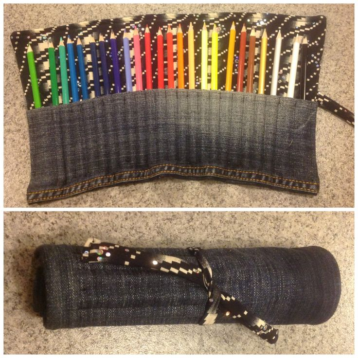 What are some ideas for cool homemade pencil cases?