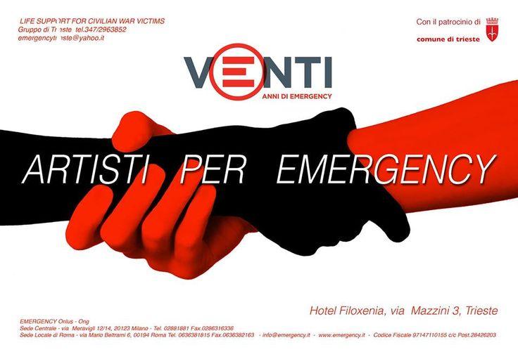 Artisti per Emergency Cover