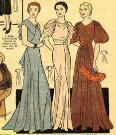 1930s style | selection of Vintage Ball Gowns and Dresses, these dresses are still ...