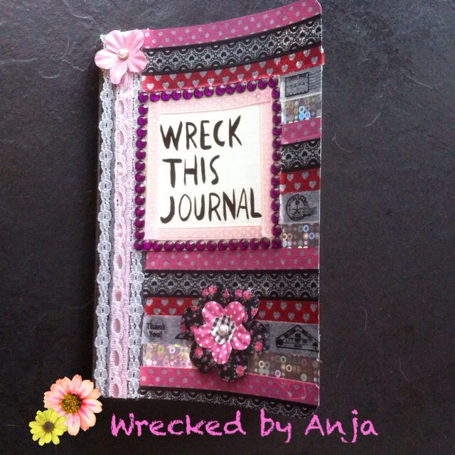 Cover - Wrecked by Anja