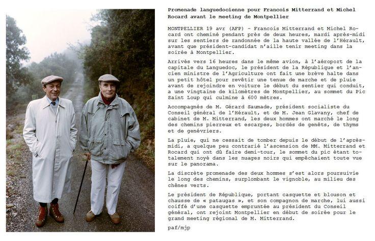 STRASBOURG - C'est « une opération complètement secrète », un « coup de communication qui a surpris Rocard lui-même » : Patrick Hertzog, aujourd'hui responsable photo au bureau de Strasbourg, se souvient des conditions dans lesquelles il a réalisé la photographie prise le 19 avril 1988, entre les deux tours de l'élection présidentielle, lors d'une rencontre entre François Mitterrand et son rival socialiste Michel Rocard, décédé le 2 juillet dernier, qu'il adoubera Premier ministre au…
