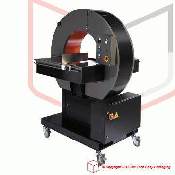STEP EXR-301 Horizontal Wrapper  Horizontal Wrapper with flat surface table.
