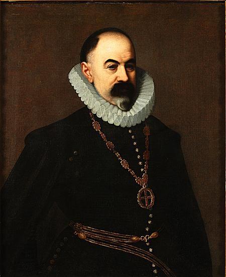 Juan Pantoja de la Cruz - PORTRAIT OF PEDRO FRANQUEZA Y ESTEVE, I CONDE OF VILLALONGA, 1603