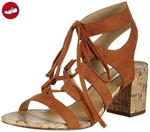 ESPRIT Redy Sandal, Damen Knöchelriemchen Sandalen, Braun (220 rust brown), 38 EU - Esprit schuhe (*Partner-Link)