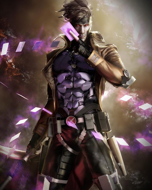 And this is why Gambit is a heartbreaker. WOW! Art by Anson Ng