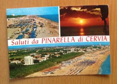 Saluti da #Pinarella di #Cervia #postcard