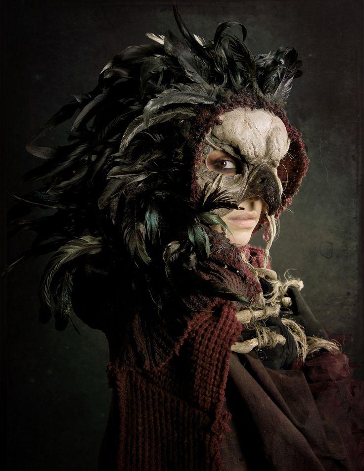 Bird Queen   Bird Queen Model and mask creator - Cassandra M…   Flickr