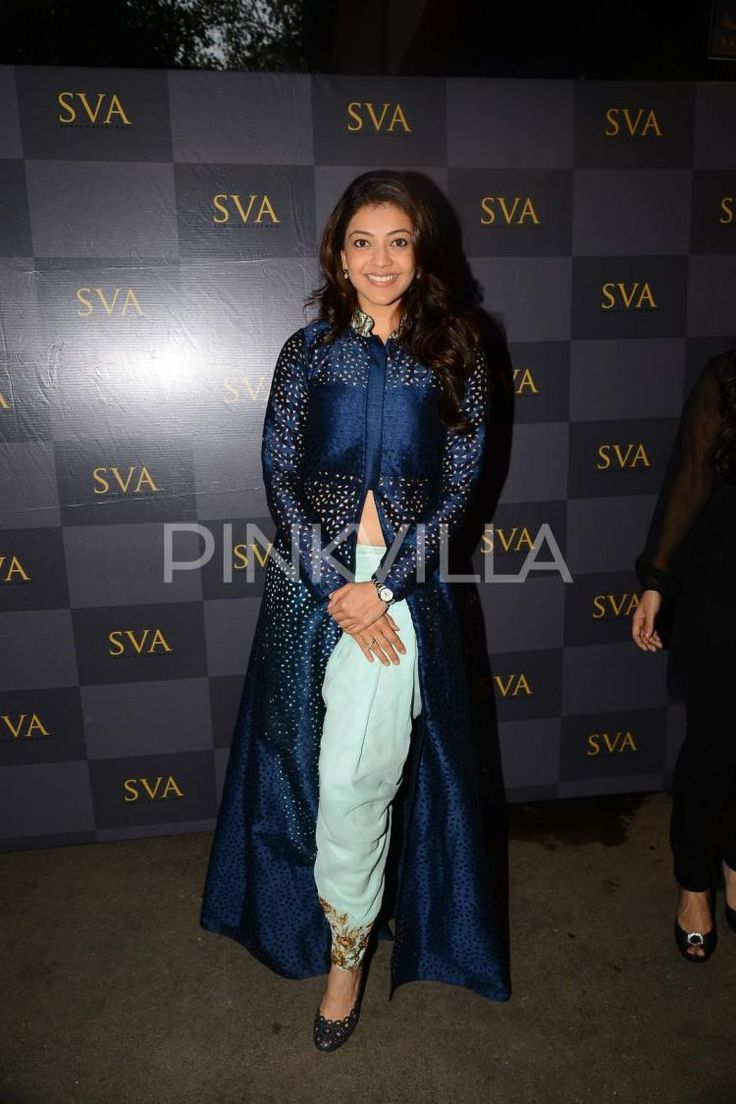 Kajal Agarwal attend the new collection launch of SVA Couture   PINKVILLA
