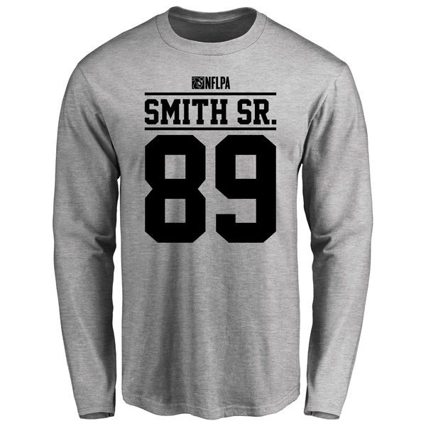 Steve Smith Sr Player Issued Long Sleeve T-Shirt - Ash - $25.95
