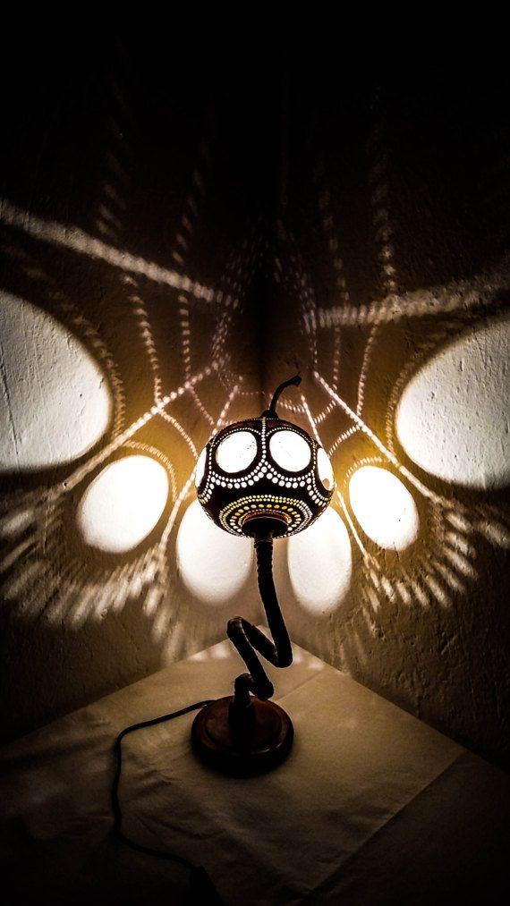 HOLIDAY GIFTS Gourd lamp Kürbislampe Christmas lights Ottoman