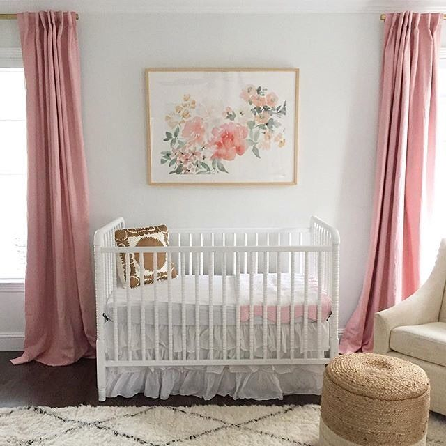 This Baby Was Just Welcomed Into The World And Her Nursery Awaits! If You  Love