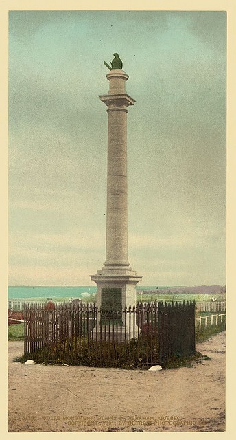 Wolfe Monument, Plains of Abraham, Quebec (LOC)
