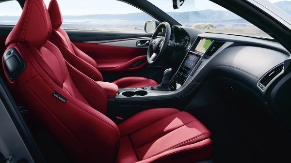 2018 Infiniti Q60 Coupe Interior Details Coupe Red Interior Car Infiniti Usa