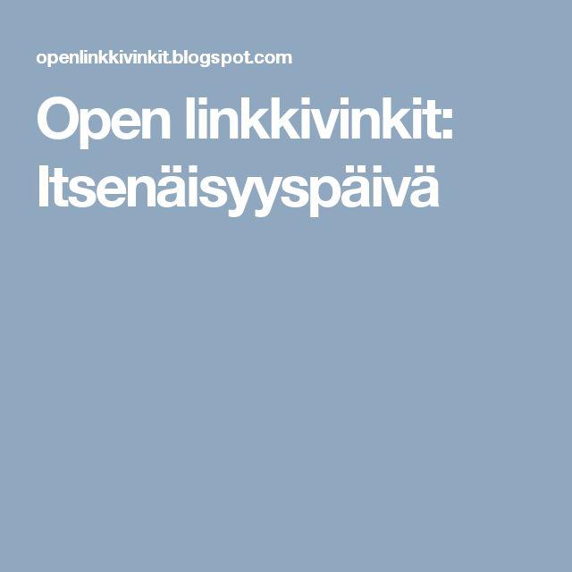 Open linkkivinkit: Itsenäisyyspäivä